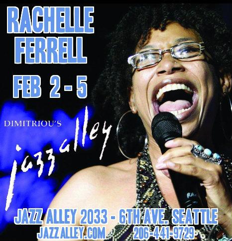 Rachelle Ferrell at Dimitriou's Jazz Alley @ Dimitriou's Jazz Alley
